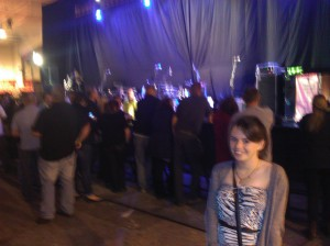 Jess Waiting for The Specials