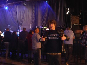 Me Waiting for The Specials at Hull Arena