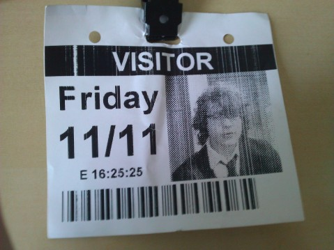 My Visitor Pass for Parliament