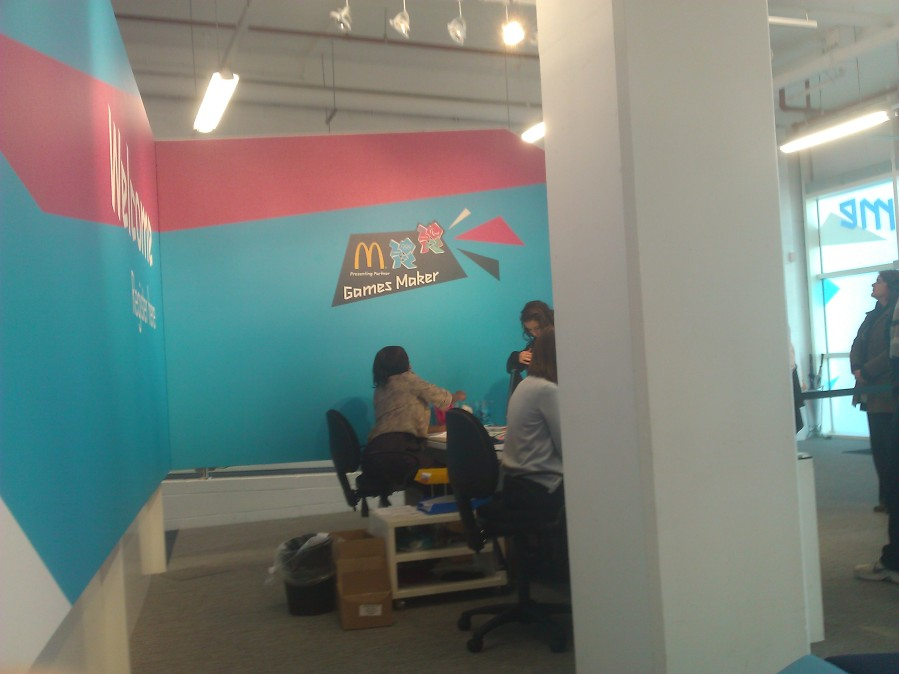 The Olympic Game Makers sponsored by... McDonalds?!