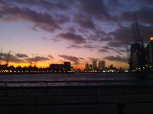 The London Night Sky