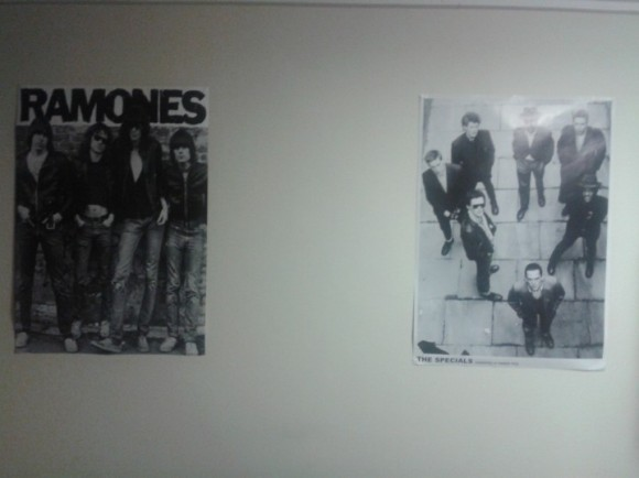 Ramones and The Specials Poster