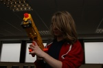 James with his Nerf Gun