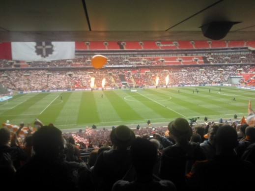 Luton Town vs York City Wembley 2012 Opening Ceremony