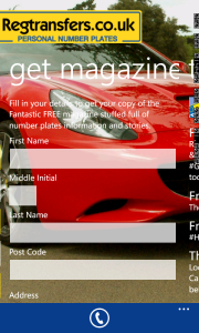 Order a magazine