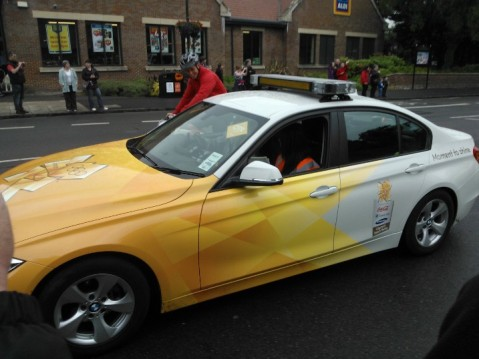 The Olympic BMW