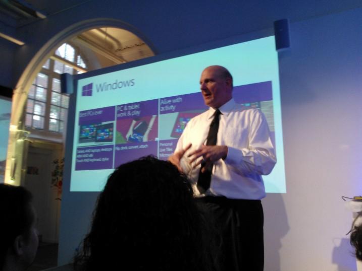 Steve Ballmers Vision for the Windows Brand