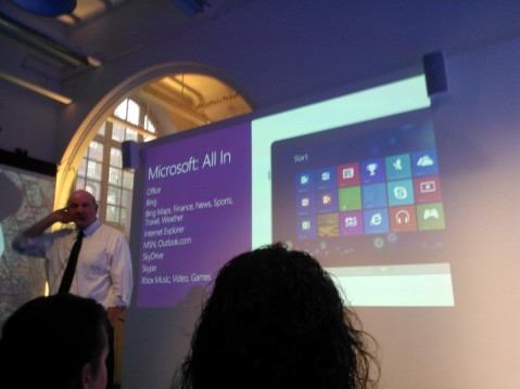 "Steve Ballmer Explains how Microsoft are ""All in"" with Windows 8 and Windows Phone"