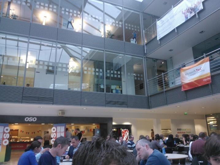 The OSO Restaurant In Microsoft Ireland Building 1