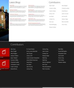 Hull Computer Science Blogs for Windows 8 - Main Page Comparison 2