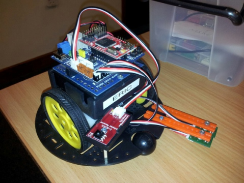 Eric The .NET Micro Framework Robot