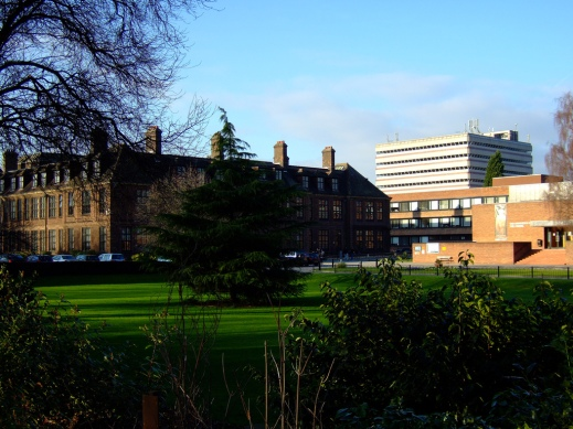 A view of the University of Hull Campus, taken by Rob Miles