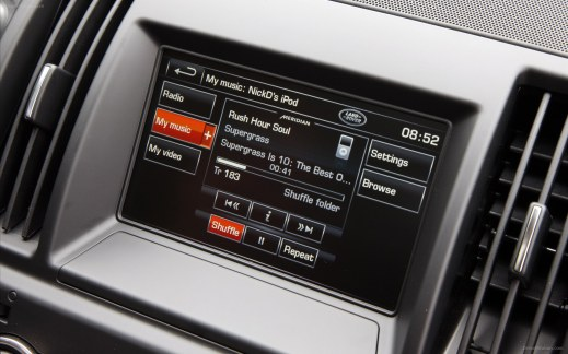 A Freeland 2 SatNav and Music Centre - Image from dieselstation.com