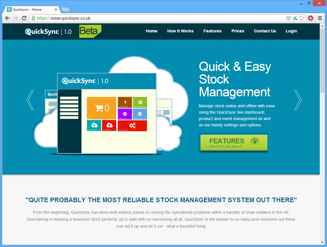 QuickSync Homepage
