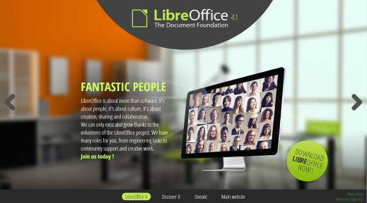 LibreOffice Website
