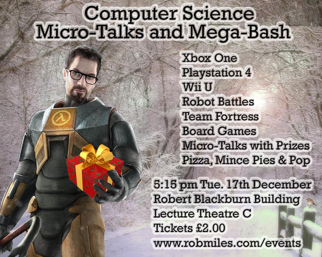Microtalks and Megabash Poster