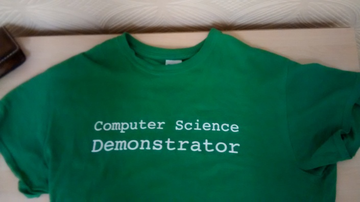 The Stylish Green Demonstrator Tee