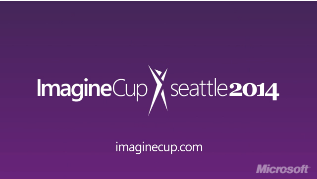 Imagine Cup Seattle 2014