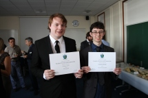 Rob and I with our awards