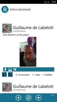 Erik Martin's Selfie using Ripple