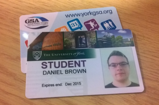 York Student Card