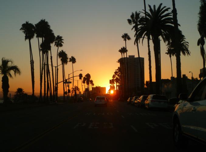 Road tripping in LA