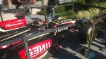 F1 Car sponsored by Microsoft Dynamics on the Microsoft Campus