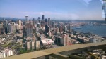 View from the Space Needle (toward downtown)