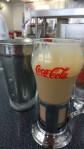 A coke float