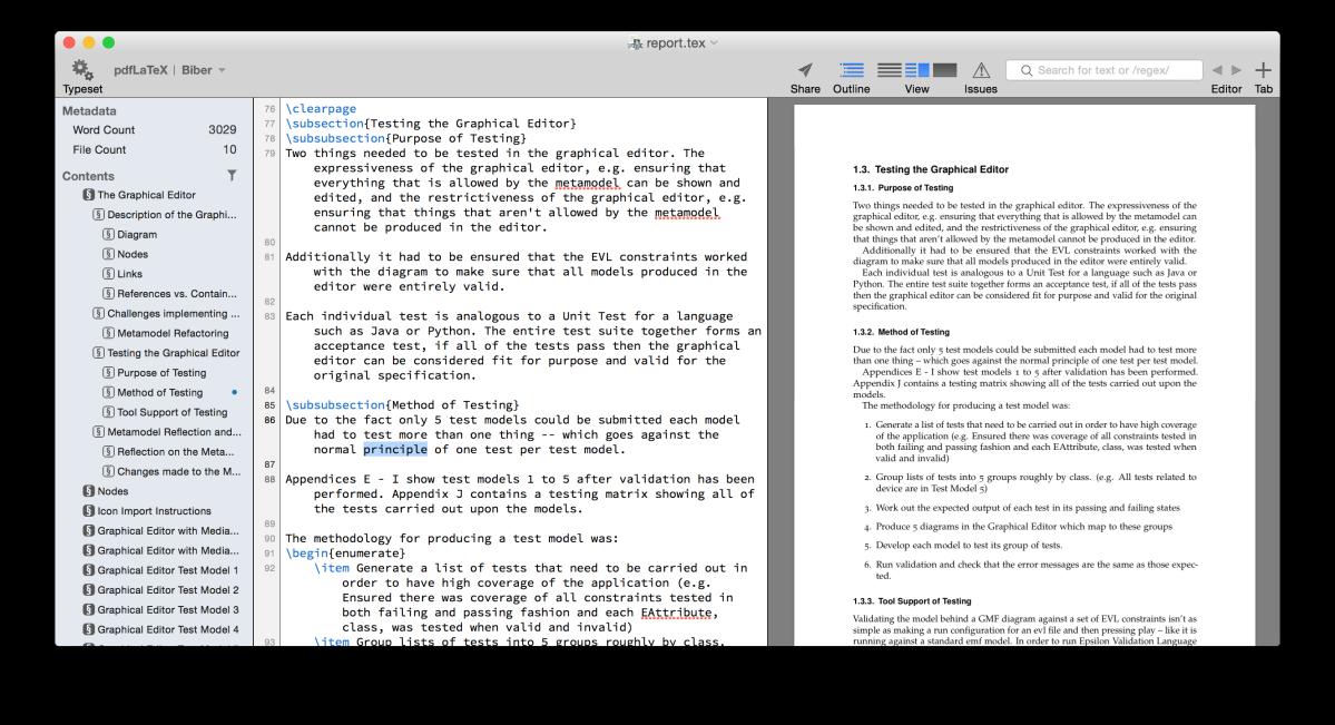 TexPad on OSX