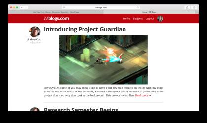 CSBlogs.com Homepage - Desktop