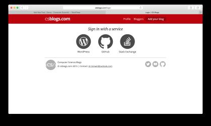 CS Blogs Login - Desktop