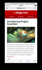CS Blogs Homepage - Mobile