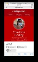 CS Blogs Profile - Mobile