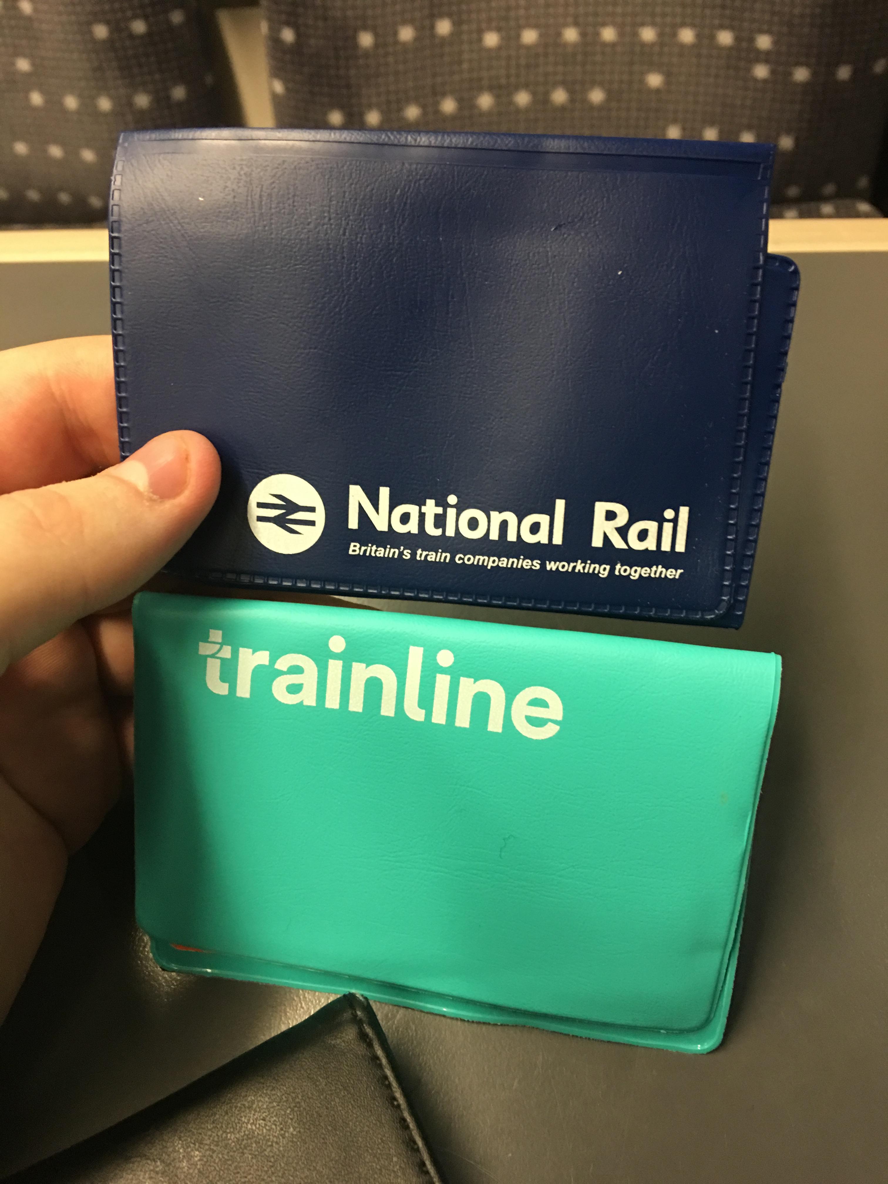 Trainline Ticket Holder