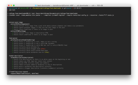 Just some of the feed-downloader tests