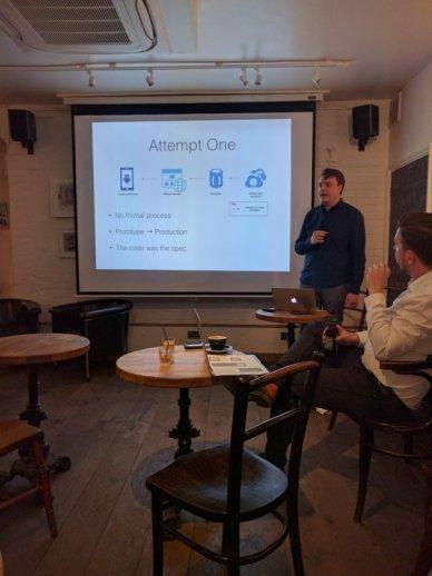 Presenting at JavaScript Cambridge